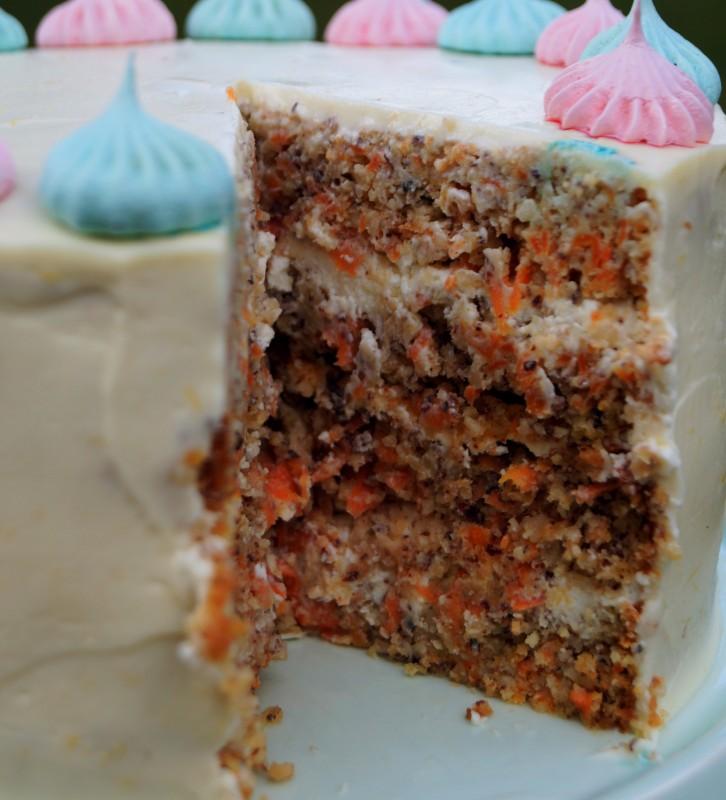 Möhren Torte