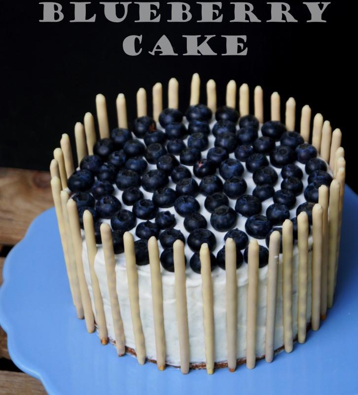 Blueberry Cake3 mit Schriftzug