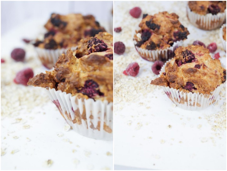 Raspberry Healthy Muffins-01001_Fotor_Collage