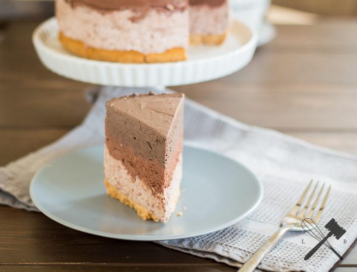 Schokoladen Ombre Cheesecake 4