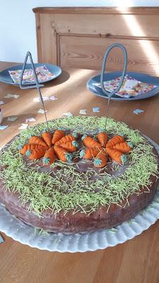 Karottenkuchen Karottentorte Rezept Diabetiker Backen Diabetes