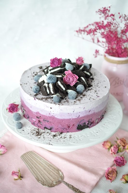 No Bake Ombre Oreo Cheesecake Caketime by Tamaris