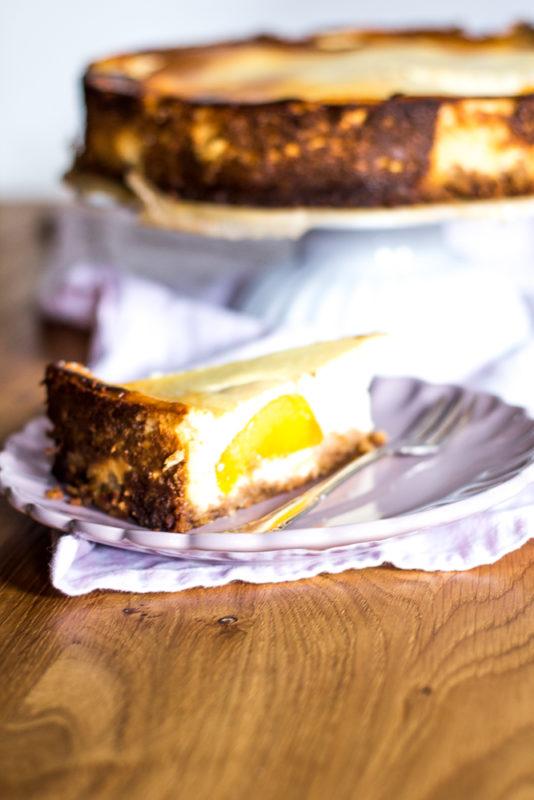 Oma S Quark Kuchen Mit Pfirsich Antonella S Backblog