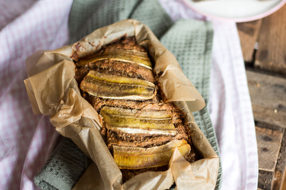 Bananenbrot  Vegan & Zuckerfrei