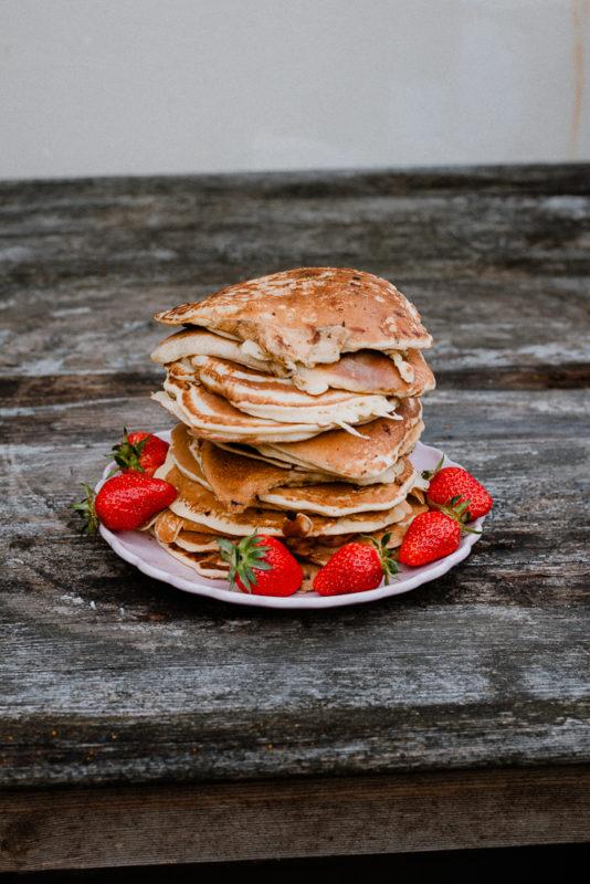 American Pancakes  Frühstücksliebling